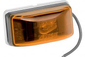 Wesbar® - Amber Waterproof Side Marker/Clearance Light