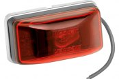 Wesbar® - Red Waterproof Side Marker/Clearance Light