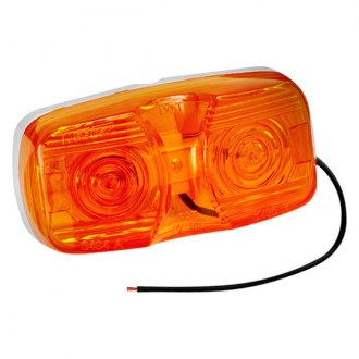 Wesbar® - Amber Side Marker/Clearance Light with Dual Bulbs