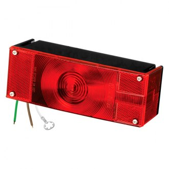 Wesbar® - Over 80 7-Function Low Profile Tail Light with Stripped Leads