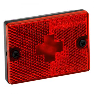Wesbar® - Red Side Marker/Clearance Light with Reflex and 18 Pigtail