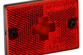 "Wesbar® - Side Marker/Clearance Light with Reflex and 18"" Pigtail"