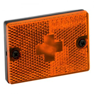Wesbar® - Amber Side Marker/Clearance Light with Reflex and 18 Pigtail