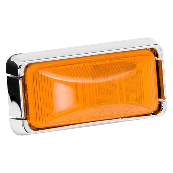Wesbar® - 37 Series Amber Clearance Lens Light