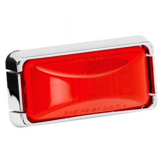 Wesbar® - 37 Series Red Clearance Lens Light