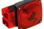 "Wesbar® - Over 80"" 7-Function Submersible Tail Light"