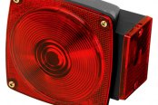 "Wesbar® - 80 Series Under 80"" 6-Function Combination Tail Light"