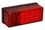 Wesbar® - 7-Function LED Low Profile Tail Light
