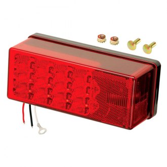 Wesbar® - 8-Function LED Low Profile Tail Light