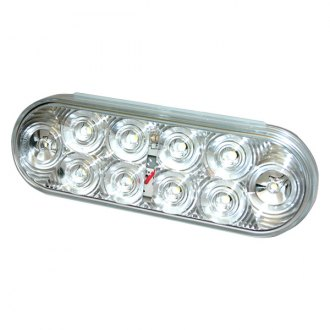 Wesbar® - 6 Clear LED Stop / Tail / Turn Light