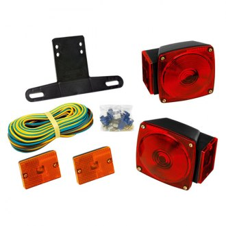 Wesbar® - Clear Trailer Light Kit