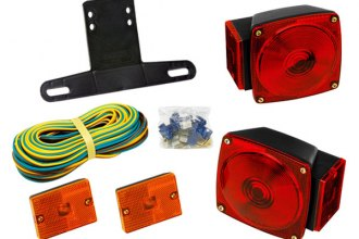 Wesbar® 2823285 - Clear Trailer Light Kit