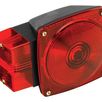 "Wesbar® - 80 Series Left/Roadside 8-Function Over 80"" Combination Tail Light"