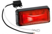 Wesbar® - Red LED Rectangular Clearance Marker Light