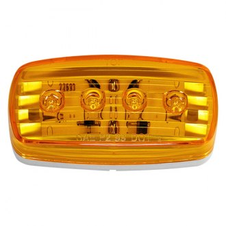 Wesbar® - 58 Series Amber LED Side Marker Clearance Light