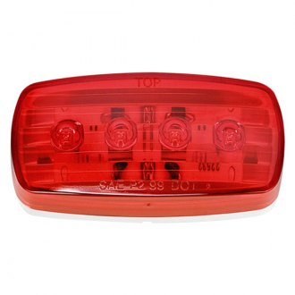 Wesbar® - 58 Series Red LED Side Marker Clearance Light