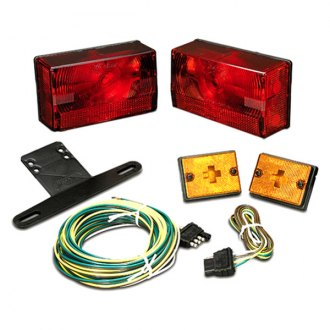 Wesbar® - Submersible Over 80 Clear Tail Light Kit