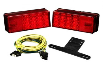 "Wesbar® - 80"" 3X8 LED Low Profile Tail Light Kit"