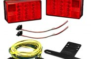 Wesbar® - 4x6 LED Low Profile Tail Light Kit