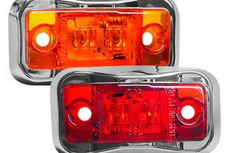 Wesbar® - LED Side Marker Clearance Light with Chrome Bezel