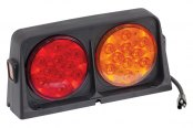 Wesbar® - LED Red / Amber Dual AG Light