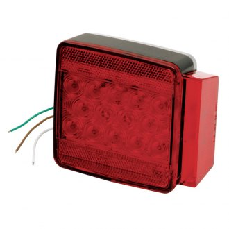 "Wesbar® - 80"" Submersible LED Combo 6-Funct Tail Light Right"
