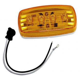 Wesbar® - LED Clearance-Side Marker Light #58 with Pigtail