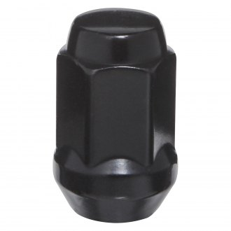 West Coast® - Black Cone Seat Bulge Acorn Closed End Lug Nut