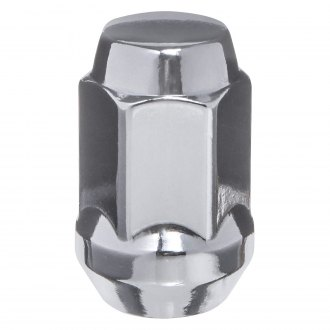 West Coast® - 2-Pc Chrome Cone Seat Acorn Bulge Closed End Lug Nuts