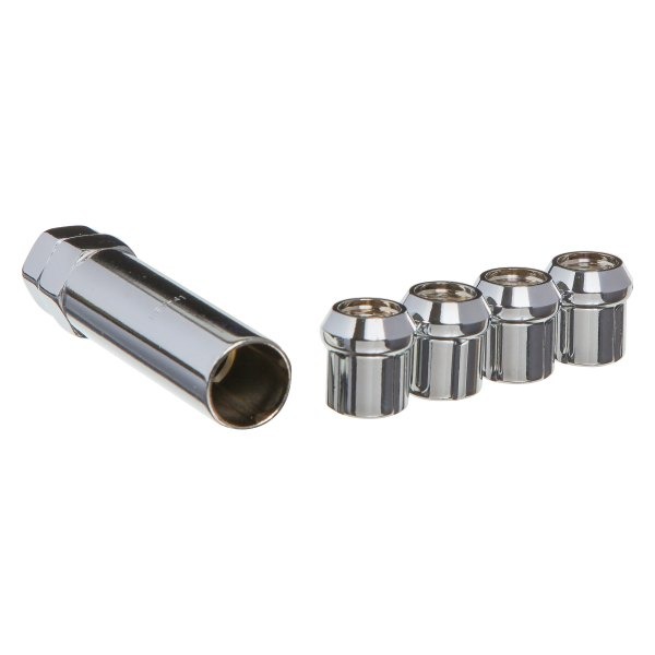West Coast® - Cone Seat Acorn Open End Spline Lug Nut