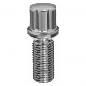 West Coast® - Radius/Ball Seat Spline Lug Bolts