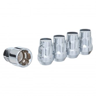 West Coast® - Cone Seat Acorn Bulge Closed End Wheel Locks