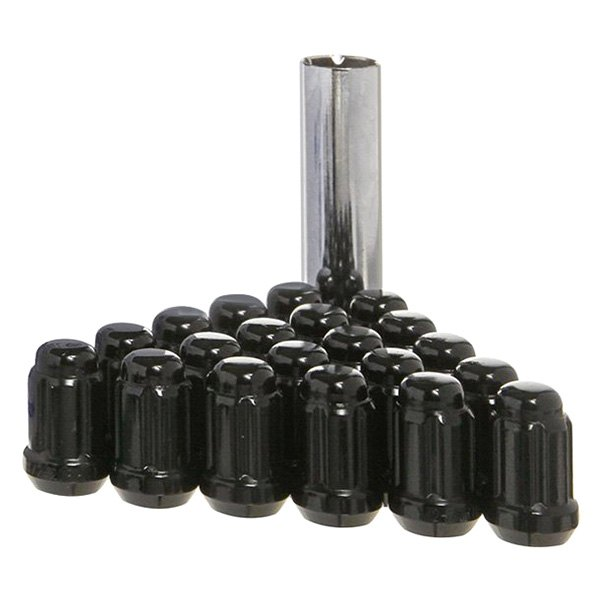 West Coast® - Black Cone Seat Bulge Closed End Spline Installation Kit