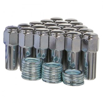 West Coast® - Chrome Shank Seat Acorn Installation Kit