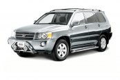 "Westin® - 2"" Safari Stainless Steel Light Bull Bar on Toyota Highlander"