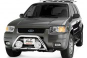 "Westin® - 2"" Safari Stainless Steel Light Bull Bar on Ford Escape"