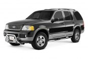 "Westin® - 2"" Safari Stainless Steel Light Bull Bar on Ford Explorer"