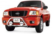 "Westin® - 2"" Safari Stainless Steel Light Bull Bar on Ford Ranger"