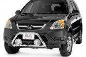 "Westin® - 2"" Safari Stainless Steel Light Bull Bar on Honda CR-V"