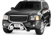 "Westin® - 2"" Safari Stainless Steel Light Bull Bar on Isuzu Ascender"