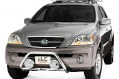 "Westin® - 2"" Safari Stainless Steel Light Bull Bar on Kia Sorento"