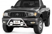"Westin® - 2"" Safari Stainless Steel Light Bull Bar on Toyota Tacoma"