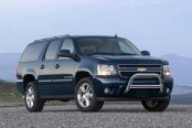 "Westin® - 3"" E-Series Bull Bar with Skid Plate Removed on Chevy Suburban"