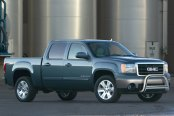 "Westin® - 3"" E-Series Bull Bar with Skid Plate Removed on GMC Sierra"