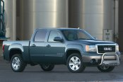 "Westin® - 3"" E-Series Bull Bar on GMC Sierra"