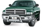 "Westin® - 3"" Ultimate Chrome Bull Bar on Dodge Ram"
