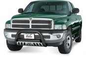 "Westin® - 3"" Ultimate Black Powdercoat Bull Bar on Dodge Ram"