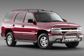 "Westin® - 3"" Ultimate Chrome Bull Bar on Chevy Tahoe"