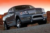 "Westin® - 3"" Ultimate Chrome Bull Bar with Skid Plate Removed on Lincoln Mark Lt"