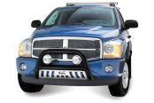 "Westin® - 3"" Ultimate Black Powdercoat Bull Bar on Dodge Durango"